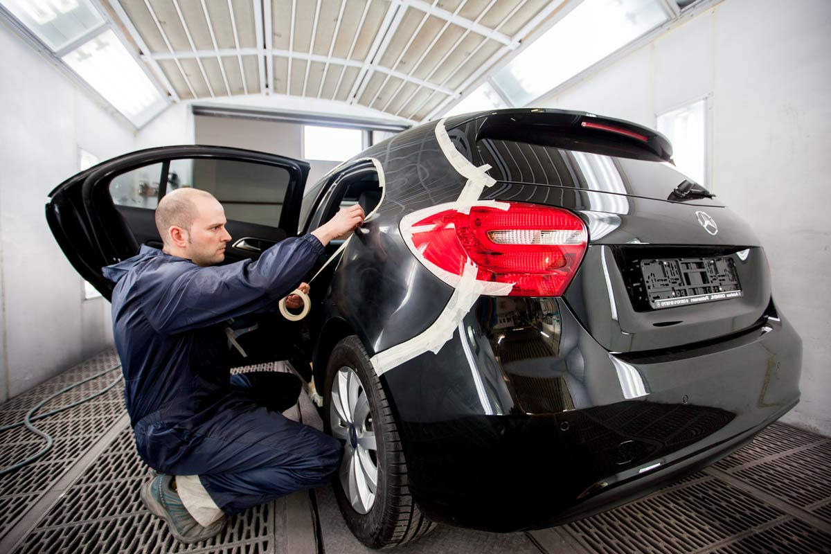 smart repair hannover Auto Lackieren